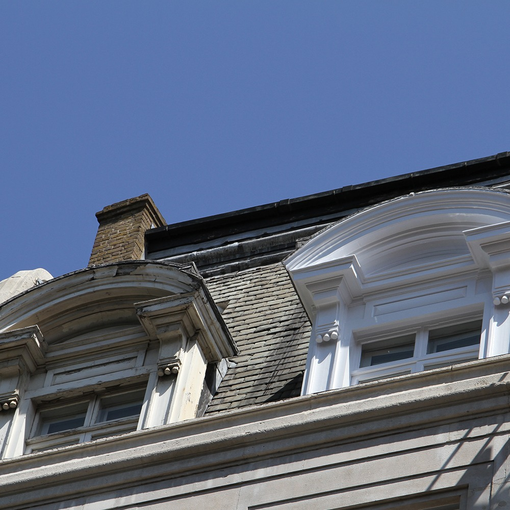 facade restoration, windows restoration, Mayfair, London