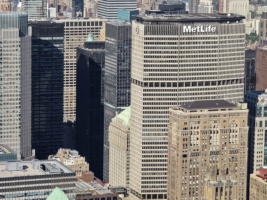tall buildings cleaning, The MetLife Inc. New York