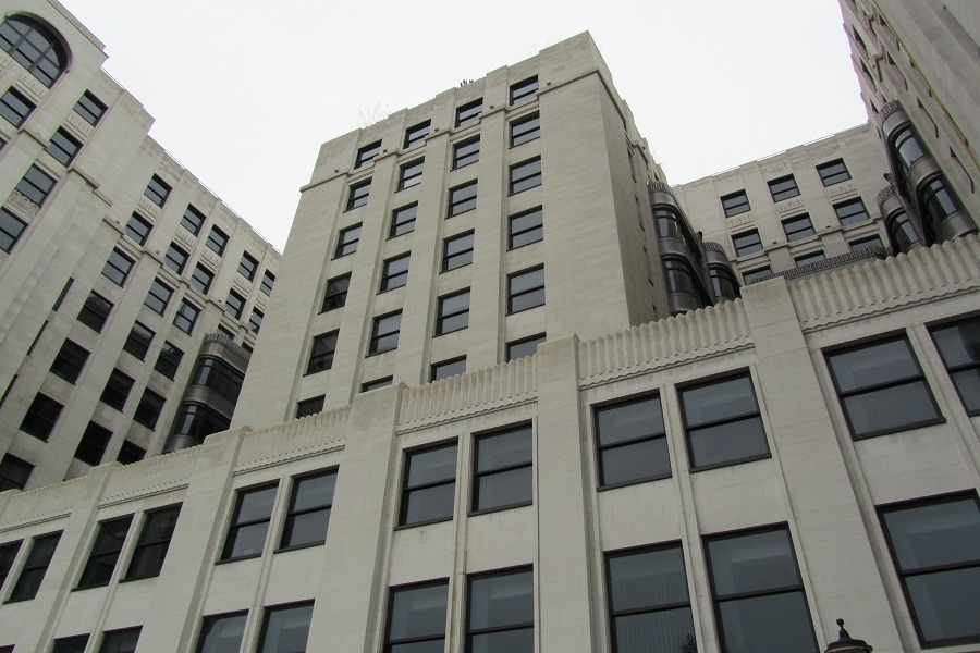 facade cleaning The Adelphi