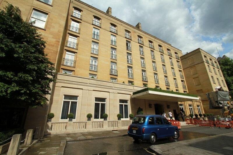Facade Cleaning The Berkeley Hotel Knightsbridge London