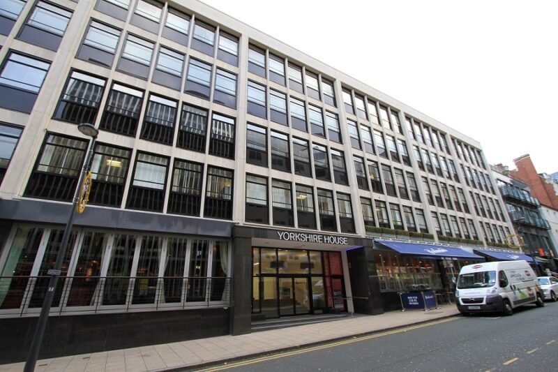Yorkshire House facade cleaning in Leeds