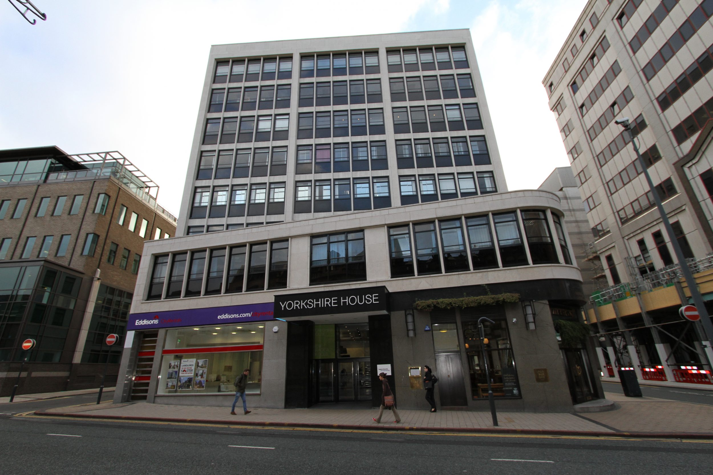 facade cleaning in Leeds, Yorkshire House