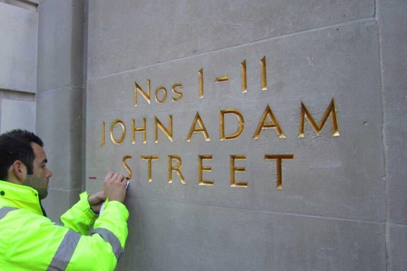 Facade Restoration The Adelphi John Adam Street London