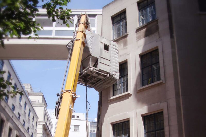 facade cleaning access
