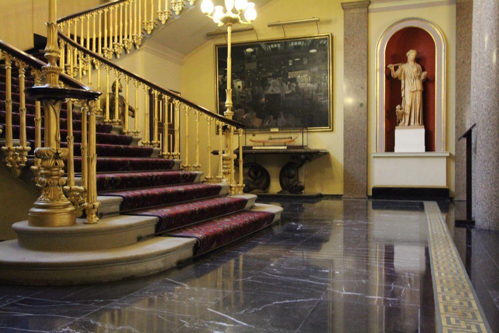 Fishmongers' Hall stone cleaning