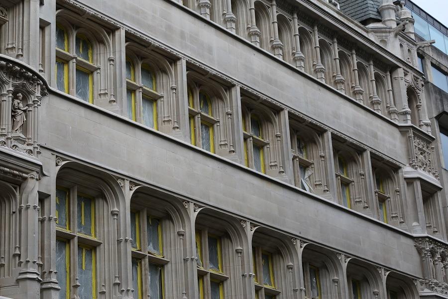 buildings in Moorgate