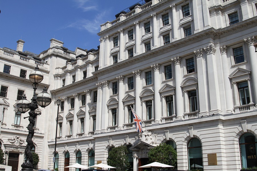 Sofitel St James's hotel restoration