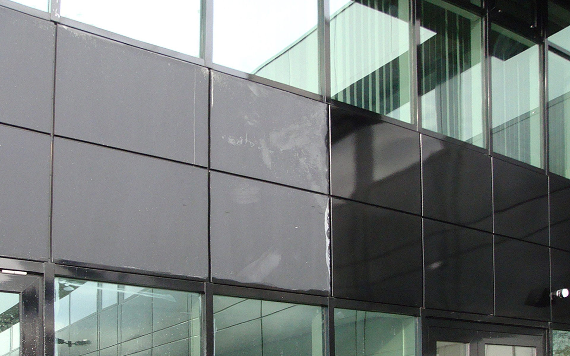 coated aluminium cleaning, glass restoration