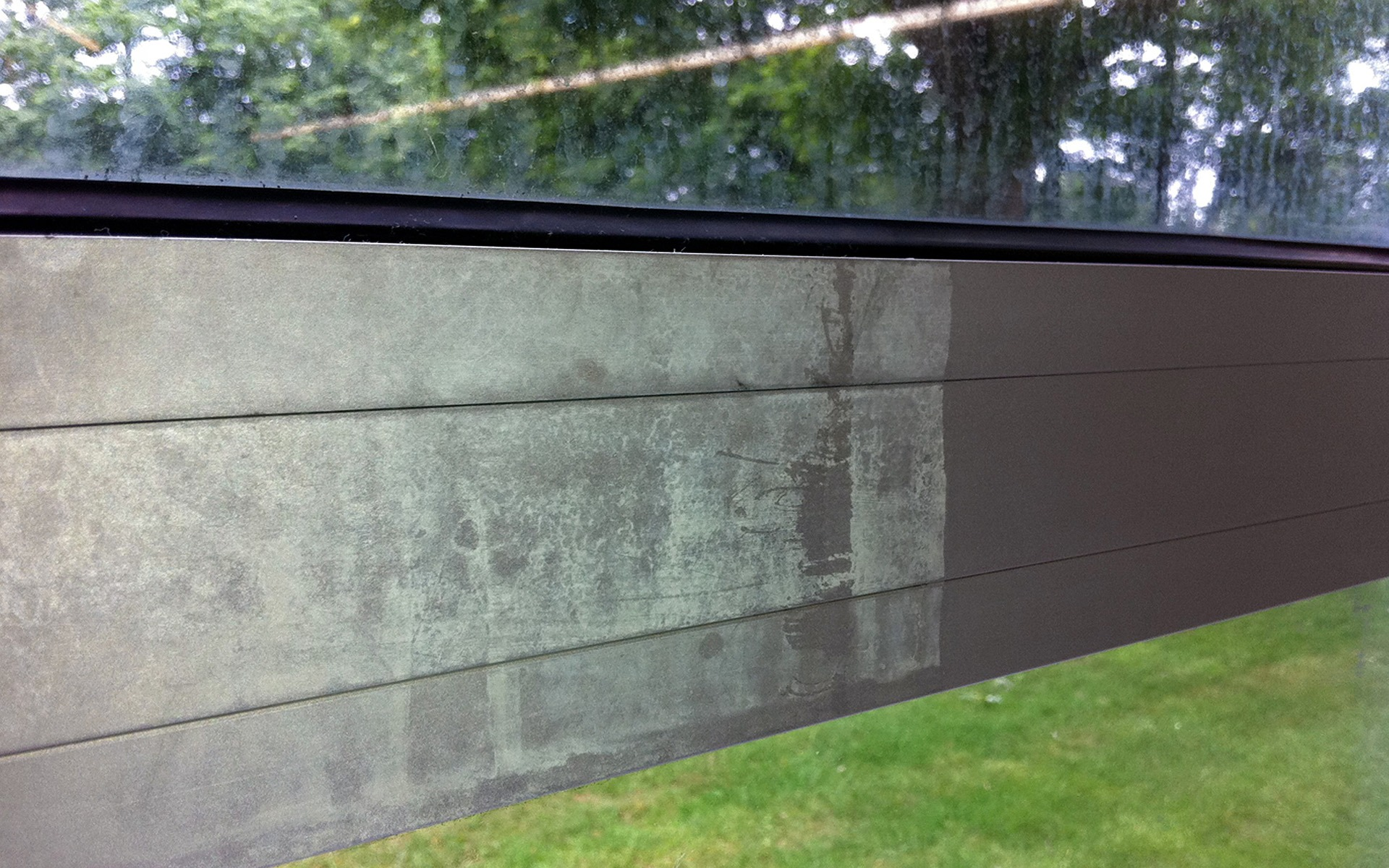 aluminium cleaning, glass restoration