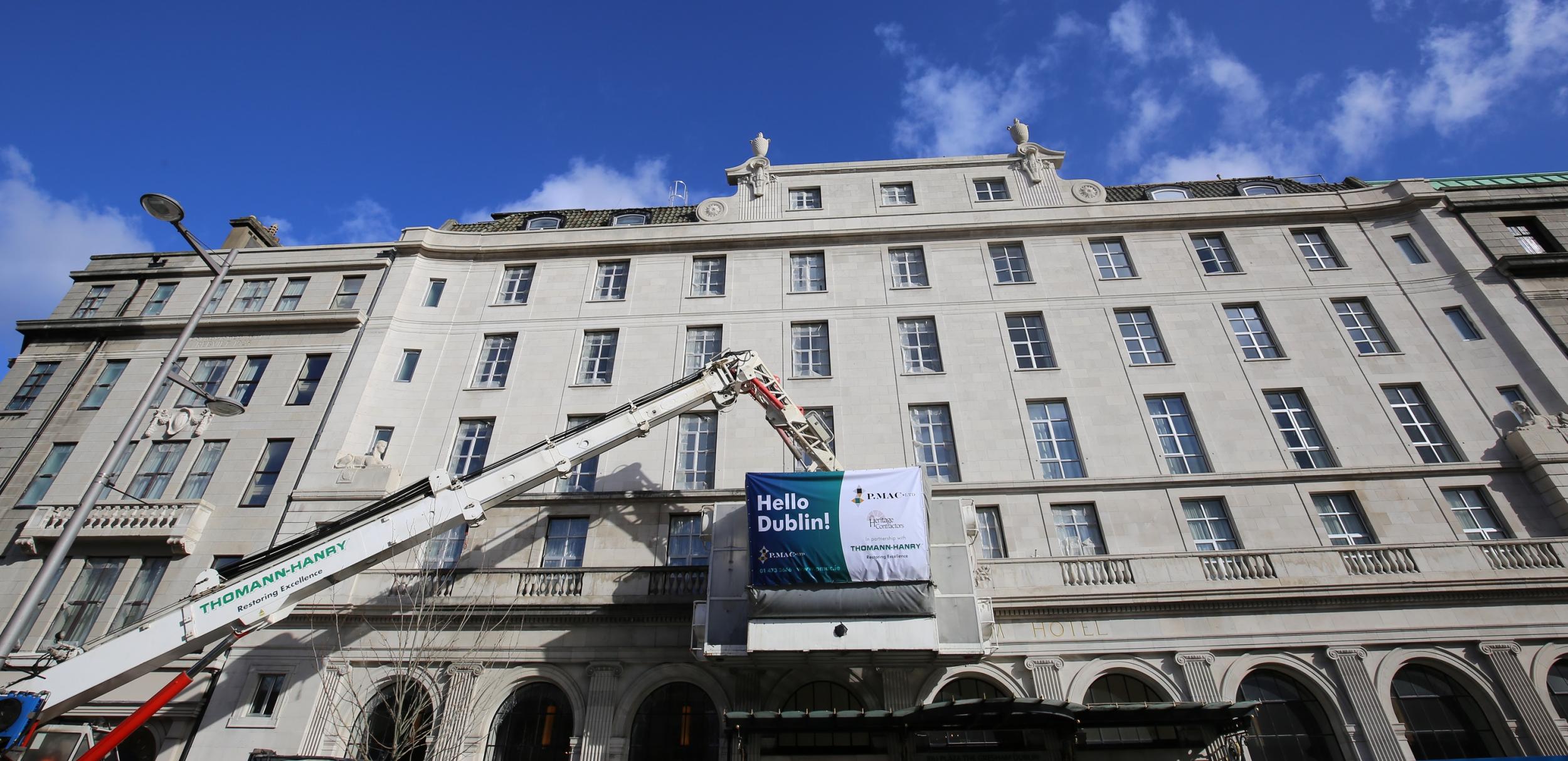 facade expert, Gresham Hotel Dublin