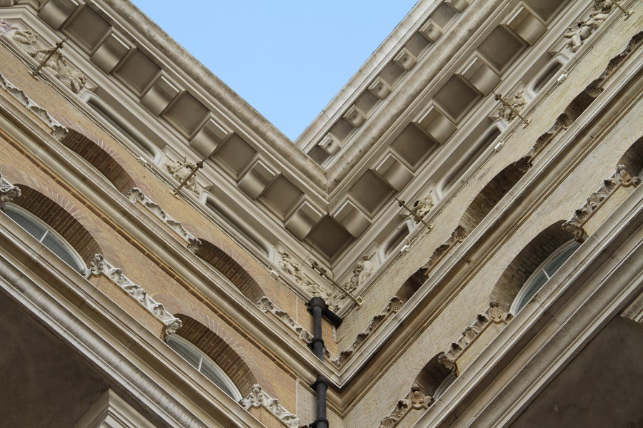 The Langham London restoration