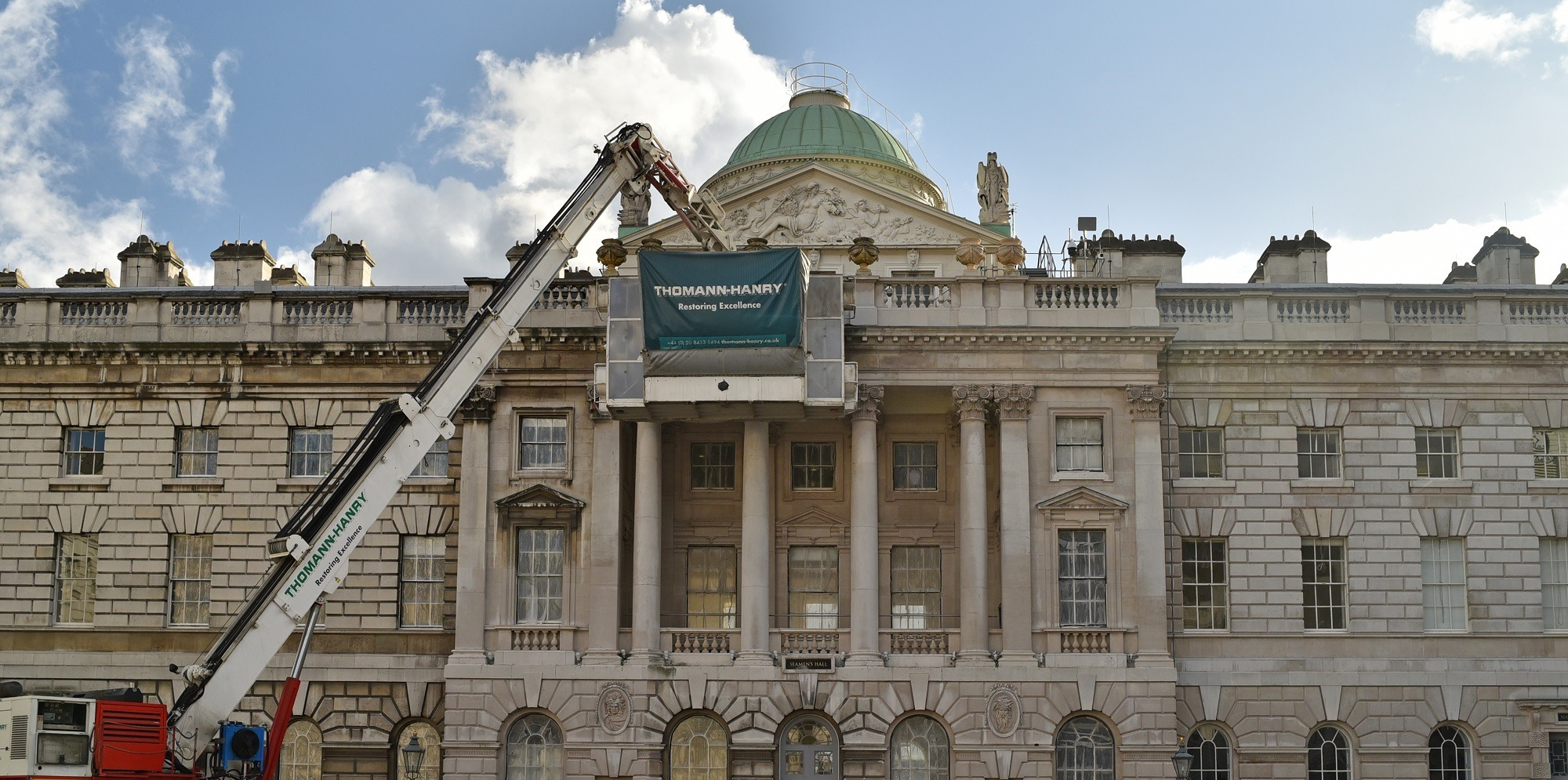 Somerset House cleaning