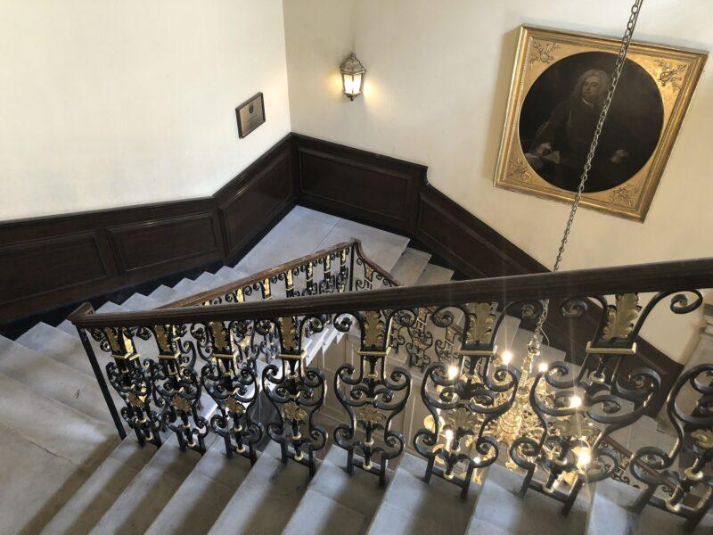 stone staircase restoration