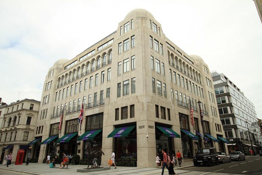 retail building facade restoration