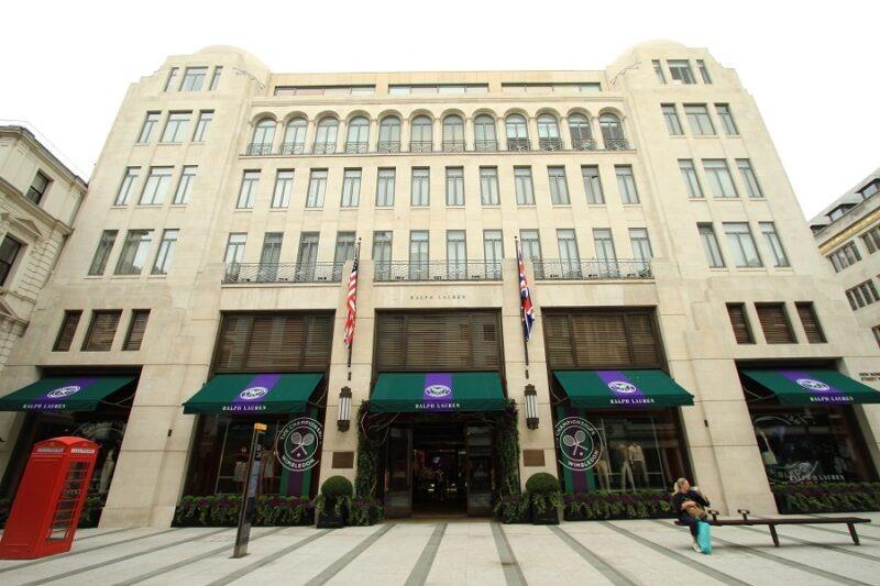 retail building facades