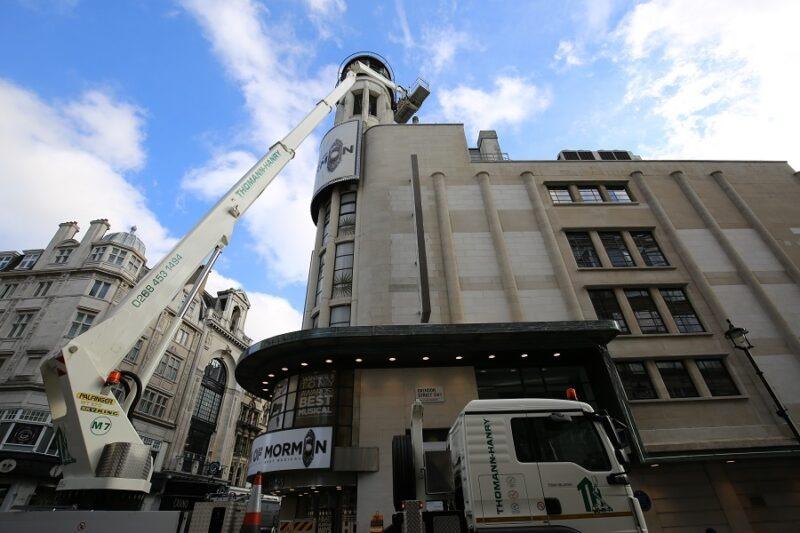 London Theatre facades