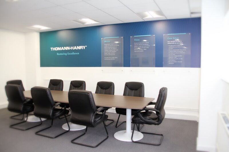 Thomann-Hanry London office