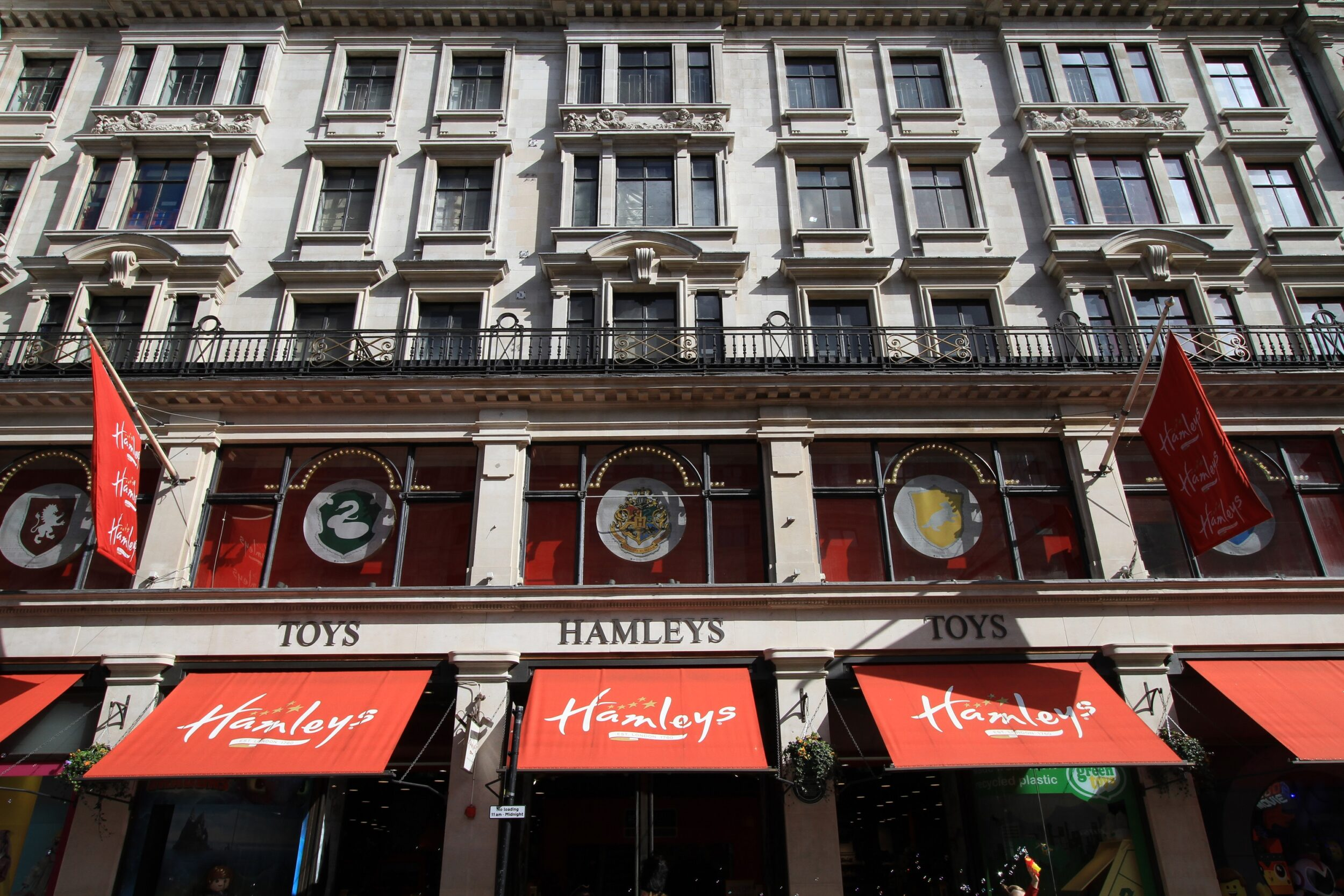 Hamleys toy store shop, London