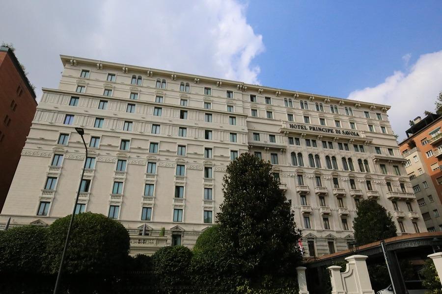 Principe di Savoia, Milan