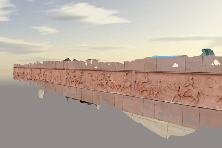 facade 3D modelling