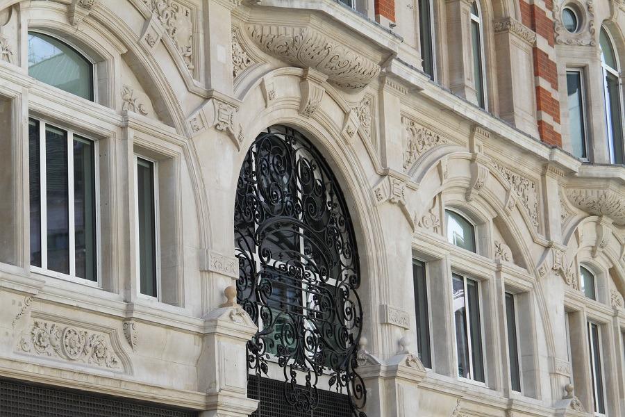 clean facade