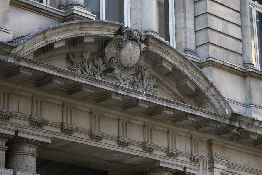 london wall buildings