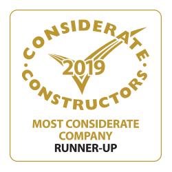 CCS Most Consderate Company Runner-Up 2019