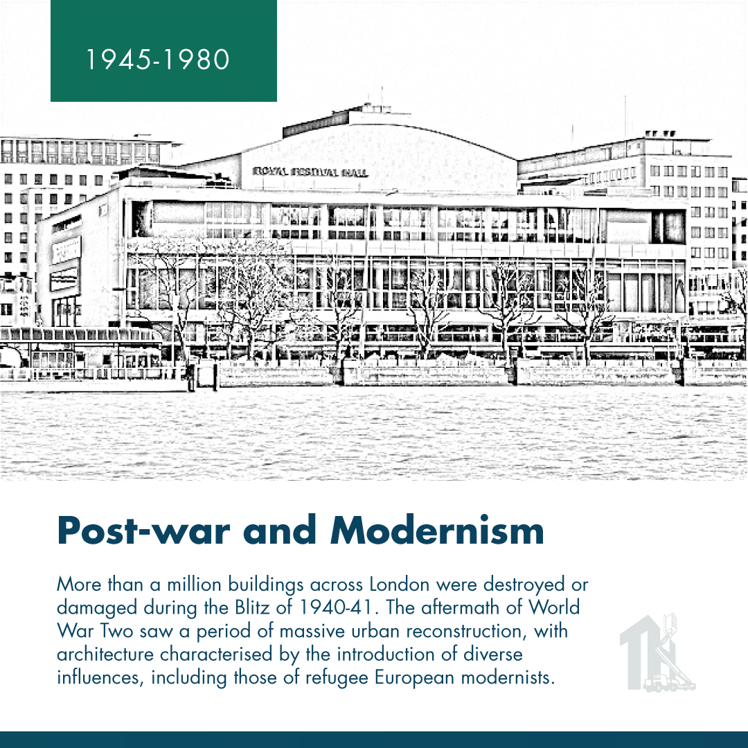 London Architecture_post-war and modernism