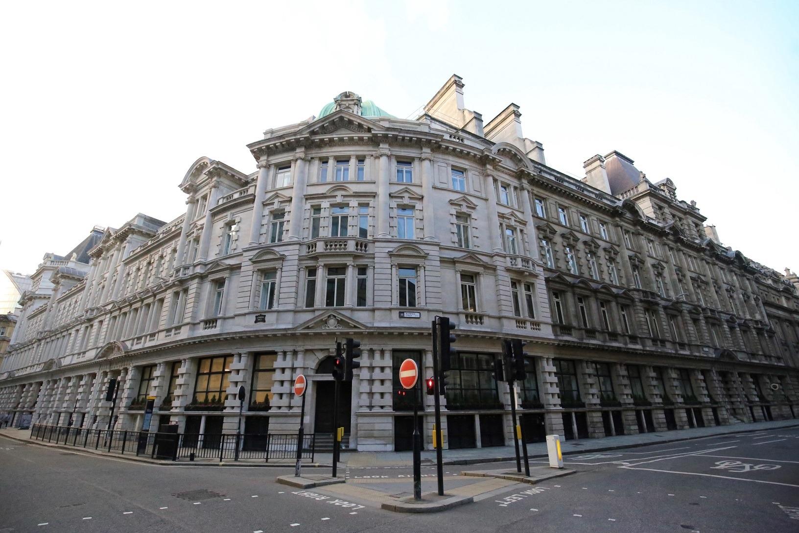 London Wall Buildings moorgate