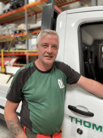 Blazej_Pajda_Senior_Mechanic, Thomann-Hanry