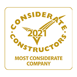 award from Considerate Constructors